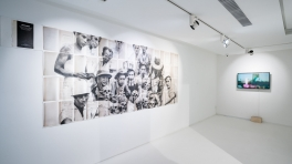 installation view of FX Harsono 'Reminiscence'